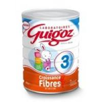 guigoz 3 , croissance fibre, 10-36 mois, 800g, poudre