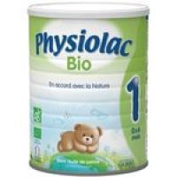 physiolac Bio 1er âge, 800g, 0-6 mois, poudre