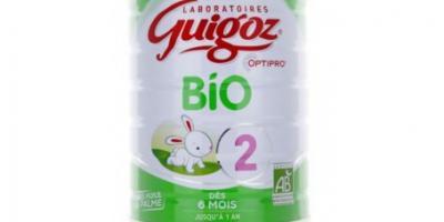 guigoz bio 2ème âge, 6-12 mois, 800g poudre