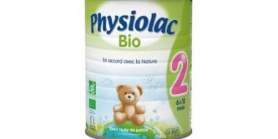 physiolac Bio 2ème âge, 6-12 mois, poudre , 800g